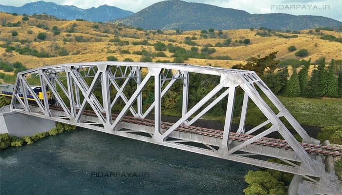 ساخت پل با خرپا